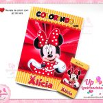 revista-de-colorir-com-giz-de-cera-minnie